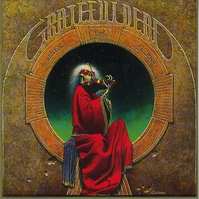 grateful dead - blues for allah - front
