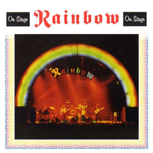 Rainbow - 1977 - On Stage - frente